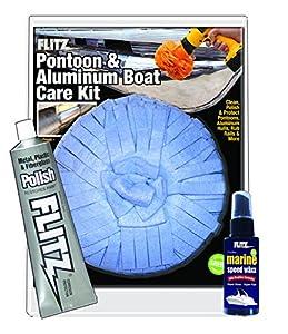 Flitz (ALB 31502) Pontoon Aluminum Boat Care Kit by Flitz