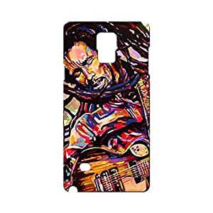 BLUEDIO Designer Printed Back case cover for Samsung Galaxy Note 4 - G1572