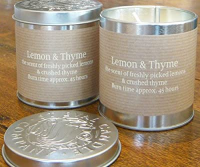 St Eval Scented Candle Tin - Lemon Thyme from St Eval