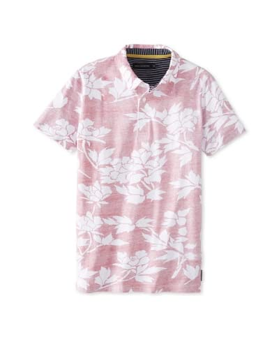 French Connection Men's Paddle Puss Floral Polo