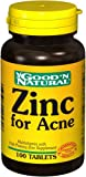 Zinc for Acne 100 Tablets