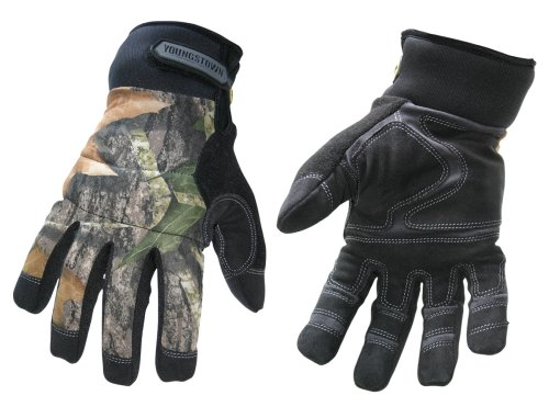 Youngstown Glove 05-3470-99-XXL Camo Waterproof Performance Glove XXLarge, Mossy Oak Camo
