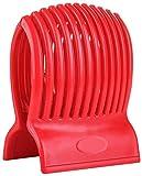 Multiuse Tomato Slicer Holder Firm Grip Durable Non BPA ABS Efficient Ergonomic 13 Dividers Design Dishwasher Safe Kitchen Slicing Shredding Lemons Potatoes Round Fruits Vegetables with Bonus eBook