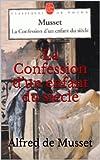 La Confession d'un enfant du si�cle
