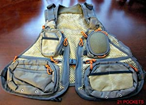 APPALACHIAN FLY VEST Light weight, 21 Pockets. Sizes: by APPALACHIAN