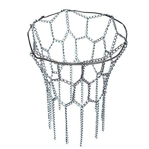 Generic yanhonguk 150730-1041 1yh3022yh 12 per cerchio in acciaio, adatta per la maggior parte dei R Sports-Canestro da basket Standard Standard si adatta alla maggior parte dei piatti, rete in metallo, 12 M ketball-Anello in acciaio