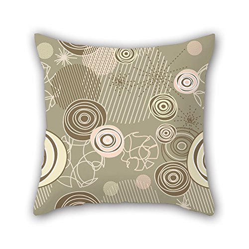PILLO Pillowcover Of Circle 20 X 20 Inches / 50 By 50 Cm,best Fit For Wife,living Room,festival,monther,adults,club Two Sides