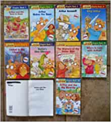Set Of 12 Arthur Chapter Books The Race To Read Makes The Team Accused Locked In The
