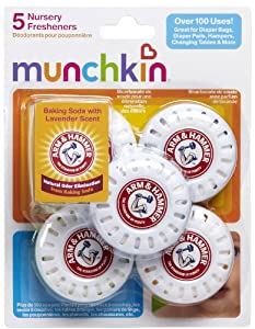 Munchkin Arm and Hammer Nursery Fresheners, 10 Pack