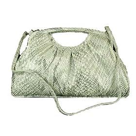 Jessica McClintock J11291 Croc Clutch Handbag