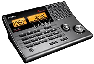 Uniden 300-Channel Clock Radio Scanner