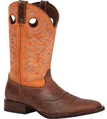 Buy Durango Mens Sq Toe 12in Orng Western Boots 10 by Durango