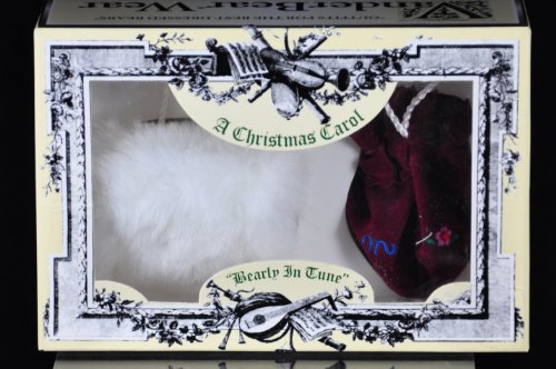 A Christmas Carol - Bearly in Time Muffy VanderBear Wear Outfit Muff and Reticule