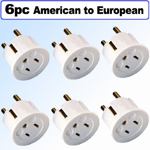 Electrical American To European Schuko Outlet Plug