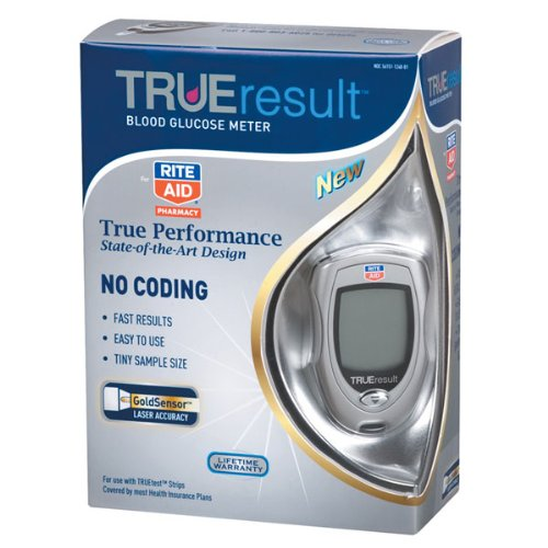 Image of Rite Aid TRUEresult Blood Glucose Meter (B005E6K5BE)