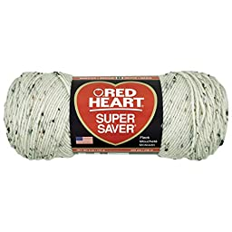 Red Heart  Super Saver Economy Yarn, Aran Fleck