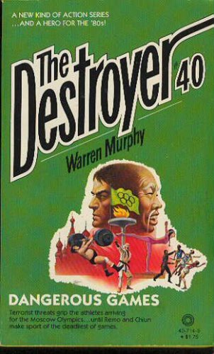 The Destroyer: DANGEROUS GAMES #40