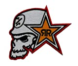 Rockstar Energy Drink Metal Mulisha Sponsor Racing MMA Sport Extreme DIY Embroidered Sew Iron on Patch