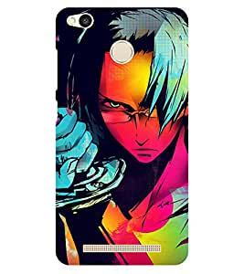 Chiraiyaa Designer Printed Premium Back Cover Case for Xiaomi Redmi 3S Prime (painting cartoon) (Multicolor)
