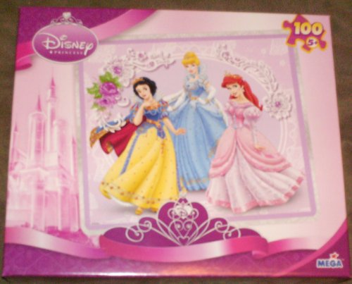 Disney Princess Posing Pretty 100 Piece Puzzle - 1