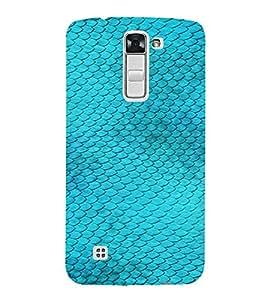 PrintVisa Blue Fish Design 3D Hard Polycarbonate Designer Back Case Cover for LG K10