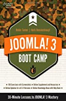 Joomla! 3 Boot Camp: 30-Minute Lessons to Joomla! 3 Mastery Front Cover