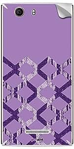 GsmKart MCN2 Mobile Skin for MIcromax Canvas Nitro 2 (Purple, Canvas Nitro 2-561)