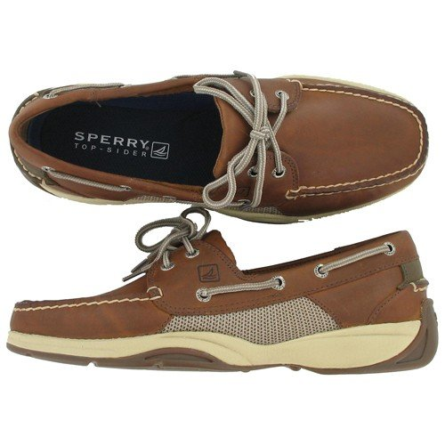 Sperry Top-Sider Men's Intrepid 2- Eye Lace-Up,Wicker/Olive,13 M US