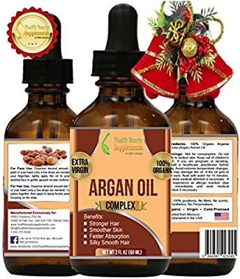 CHRISTMAS SPECIAL 2016 argan oil pure organic - argan oil for face - argan magic - argan oil of morocco - argan oil hair growth therapy