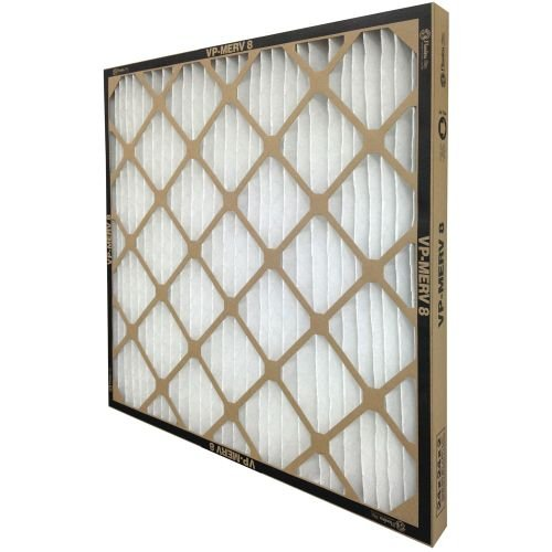 FLANDERS 80285.011424 VP MERV 8 HIGH-CAPACITY EXTENDED SURFACE PLEATED AIR FILTER, 14X24X1 IN., (12 PER CASE)