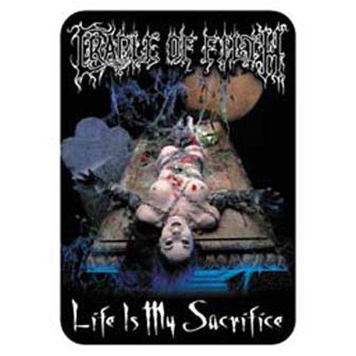 Cradle of Filth - Sticker Sacrifice (in 7 cm x 9 cm)