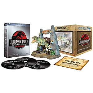 Jurassic Park Ultimate Trilogy on Blu-ray gift set