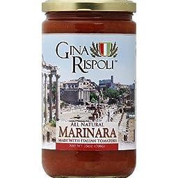 Gina Rispoli Marinara Sauce (12x24oz)