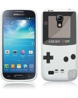 Etui de cr�ateur pour Samsung Galaxy S4 Mini i9190 - Etui / Coque / Housse de protection blanc en TPU/gel/silicone avec motif cool gameboy couleur