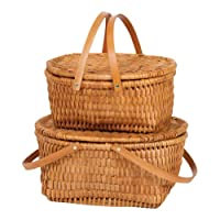 Picnic Plus Kit & Kaboodle Basket Set (2) (NATURAL) from Brookstone