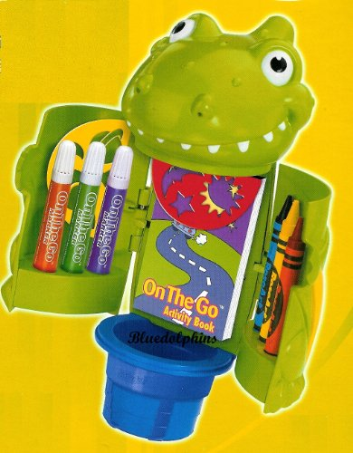 RoseArt On-the-Go Art Cup Activity Book - Dragon