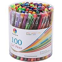 Smart Color Art 100 Colors Gel Pen Set