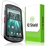 IQ Shield LiQuidSkin - Kyocera DuraForce Screen Protector + Full Body (Front & Back) with Lifetime Replacement Warranty - High Definition (HD) Ultra Clear Smart Film - Premium Protective Screen Guard - Extremely Smooth / Self-Healing / Bubble-Free Shield - Frustration-Free Retail Packaging