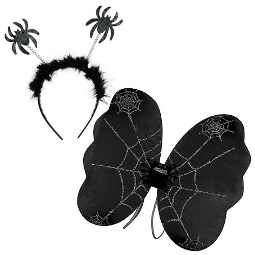 Black Spider Wing Set