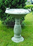 "Country Gardens Solar Birdbath Fountain - 29"" H"
