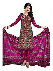 Komal arts EthnicwearWomen's Dress Material(KOMALSPL6010_Multi-Coloured_Free Size)