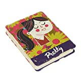 P is for Pretty Lined and Graph Paper Style Spineless Paul Thurlby Notebook by Wild and Wolf