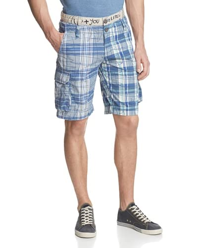 Desigual Men's Crazy Plaid Short