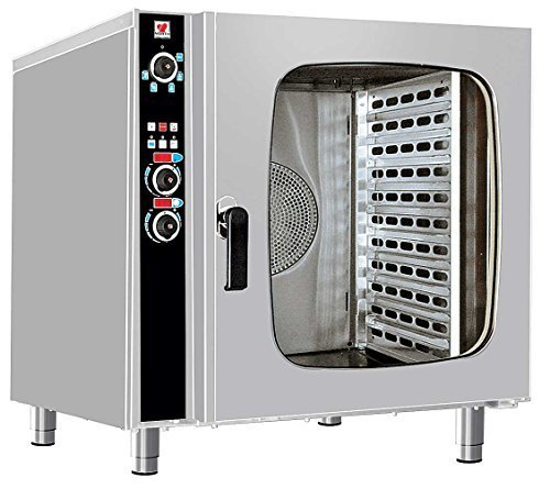 North Pro Gas FCN 100 Electric Convection/Steam Oven for 10x GN 1/1 - LxWxH: 985x940x980mm (400V-3N-AC-50Hz) (Made in Greece)