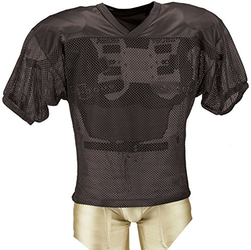 Adams Youth Porthole Mesh Practice Football Jersey with Dazz