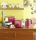 Kenwood kMix Boutique 2-Slot Toaster, Bright Magenta