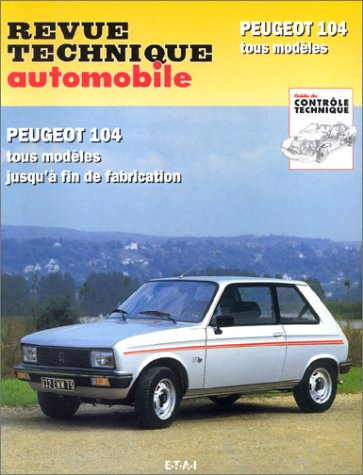 livre revue technique automobile num ro cip 733 1. Black Bedroom Furniture Sets. Home Design Ideas