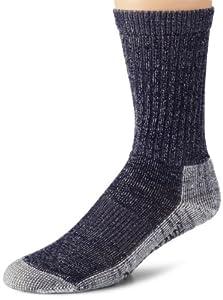 Browning Hosiery Men's Merino Wool Year Rounder Sock, 2 Pair Pack (Navy, Medium)