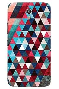 Omnam Pattern printed dark design triangular back cover for Lenovo Zuk Z1