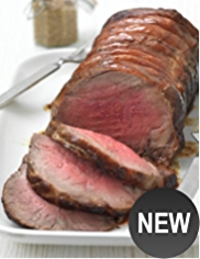 Large Rolled Sirloin of Aberdeen Angus beef (Serves 10)